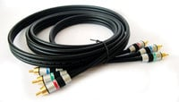 Kramer C-3RVM/3RVM-10 3 RCA Male to 3 RCA Male Component Video Cable, 10 Feet