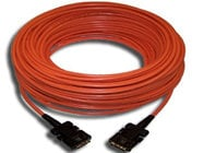 Kramer C-FODM/FODM-164 DVI-M to DVI-M Fiber Optic / Copper Hybrid Cable, 164 Feet