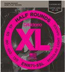 "D`Addario ENR71-5SL .045-.130"" Half Round Super Long Scale 5-String Electric Bass Strings"