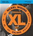 D`Addario EXL160S Medium XL Nickel Short Scale Electric Bass Strings EXL160S