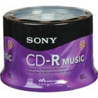Sony 50CRM80RS  Recordable Compact Discs, 50-pack