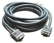 Kramer C-GM/GF-10 Molded Male VGA to Female VGA Cable, 10 ft.