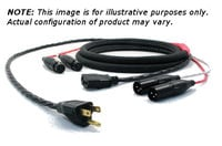 Pro Co EC12-100  100 ft PC/XLR-F to PC/XLR-M Siamese Twin Audio/Power Cable EC12-100
