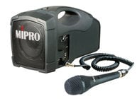 MIPRO MA101C/MM107 [RESTOCK ITEM] Portable Sound System (with MM-107 Cabled Microphone)