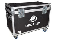 ADJ QRC-FS3Z  Road Case for (4) Focus Spot Three Z or Vizi Beam RXONE Fixtures QRC-FS3Z