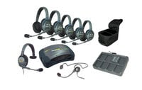 Eartec Co HUB715CYB HUB 7-Person Headset Full-Duplex Intercom System