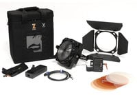 Zylight F8-200 Daylight Single Head ENG Kit 200W 5600K Single Head LED ENG Kit with Case and Gold Mount Adapter