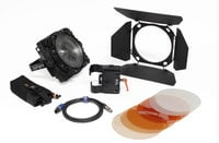 F8-200 Daylight Single Head ENG Kit 200W 5600K LED Fresnel with Gold Mount Adapter