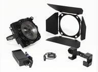 200W 5600K Daylight LED Fresnel with DMX Interface Box