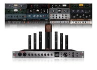 Antelope Audio Discrete 8 + Edge Mic + Verge Mics + Emulations Bundle Microphone Preamp/Interface, Modeling Mics, & Premium FX Pack