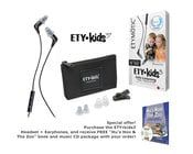 Etymotic Research Inc ETY Kids3™ Safe-Listening Earphones with Free Book/ CD