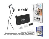 "Etymotic Research Inc ETY Kids5™ with Book/CD Kids Safe-Listening Earphones with Free ""Hu's Hoo & The Zoo"" Book + CD"