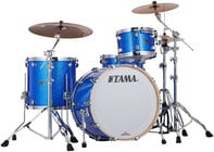 Tama PR32RZSVBL [DISPLAY MODEL] 3 Piece Starclassic Performer B/B Shell Pack in Vintage Blue Sparkle Finish PR32RZSVBL-DIS