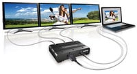 Matrox T2G-DP3D-IF [RESTOCK ITEM] TripleHead2Go Digital SE Multi-Display Adapter TRIP2GO-DP3D-IF-RST3
