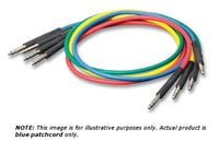 Switchcraft TT1BL 1 ft Blue TT/Bantam Audio Patchcord TT1BLX