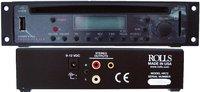 Rolls HR72-RST-02 HR72 [RESTOCK ITEM] 1/2 Rack CD/MP3 Player