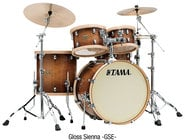 Tama LMP42RTLS S.L.P. Studio Maple 4-Piece Shell Pack in Gloss Sienna Finish LMP42RTLSGSE