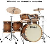 "Tama LMPF14D S.L.P. Studio Maple 14""x14"" Floor Tom with a Gloss Sienna Finish LMPF14DGSE"