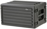 SKB Cases 1SKB-R6S [RESTOCK ITEM] 6RU Roto-Molded Shallow Rack Case