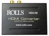 Rolls HDC39  HDMI to RCA or SPDIF Converter