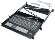 Middle Atlantic Products KB-SS Pull Out Tray for Computer Keyboard KB-SS