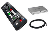 Roland System Group V-1SDI-MONARCH-HDX-K Bundle Roland V-1SDI Switcher & Monarch HDX + 10ft HD-SDI Canare Cable