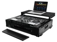 Odyssey FZGSDJ808W2BL Black Label Glide Style DJ Controller Case for Roland DJ-808 and Denon MC7000 V.2