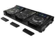 Odyssey FZ12CDJWXDBL Black Label Series Universal CD/Digital Media Player DJ Coffin Case with Wheels