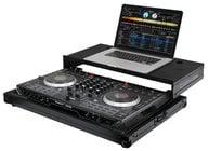 Odyssey FRGSNS6IIBL Black Label Glide Style DJ Controller Case for Numark NS6II