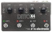TC Electronic Ditto X4 Looper with FX Pedal