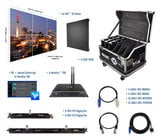Blizzard Lighting R3-32 3x2 - IRiS R3 Video Wall Package with Processor & Rigging
