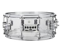 Pacific Drums PDSN0614SSCS  Chad Smith Signature 6x14 Clear Acrylic Snare Drum