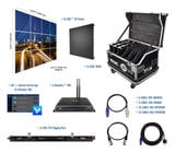 Blizzard Lighting R3-43 4x3 - IRiS R3 Video Wall Package with Processor & Rigging