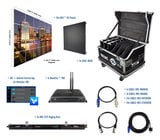Blizzard R3-64 6x4 - IRiS R3 Video Wall Package with Processor & Rigging