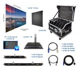 Blizzard R3-95 9x5 - IRiS R3 Video Wall Package with Processor & Rigging