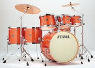 """Tama CK72S 7-Piece Superstar Classic Shell Pack with 22"""" Bass Drum"""