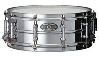 "Pearl Drums STA1450BR-SF-RST-01 STA1450BR [SUMMERFEST][RESTOCK ITEM] 14""x5"" SensiTone Series Snare Drum, Beaded Black/Brass"