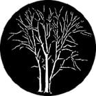 GAM 528 Winter Trees B Steel Gobo