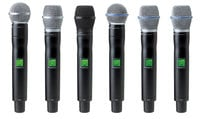 Shure UR2/BETA58-H4 [RENTAL B-STOCK MODEL] UHF-R Hand Held Transmitter with Beta 58A Supercardioid Microphone - H4