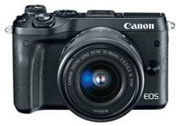 Canon EOS-M50-DUAL-LENS-KT EOS M50 Dual Lens Bundle 24.1MP Mirrorless Camera with EF-M 15-45mm & 55-200mm Zoom Lenses