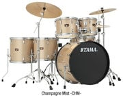 Tama IP52NC  ImperialStar Set with Meinl Cymbals, 5 Piiece Drumset with Chrome Hardware