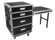 Elite Core PRO-DESK  OSP Modular 4-Drawer Workstation