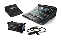 Allen & Heath SQ-5-STARTER-PACK-K Digital Mixer Bundle with Stagebox, Cover and Cat6 Cable