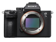 Sony ILCE7M3/B Alpha a7 III ILCE-7ME 24.2MP Full Frame Mirrorless Camera in Black - Body Only