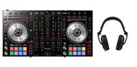 Pioneer DDJ-SX2-PK1-K DDJ-SX2 DJ Controller Bundle with HDJ2000 Headphones