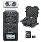 Zoom H6 Handheld Recorder Bundle with Case and 32GB micoSDHC Card