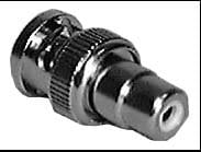 BNC Male to RCA Female Adapter, in Packaging