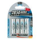 Ansmann USA AA Rechargeable 4-Pack, 2850 mAH