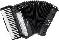 Roland FR-8x V-Accordion with 41 Piano Keys & Speakers in Black