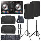 Pioneer DDJ-SR2 DJ Bundle withThump12, Stands, Bags, and Cables